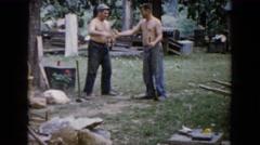 1960: a deforest scene is seen WAUCONDA, ILLINOIS Stock Footage