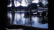 1960: swamp outing WAUCONDA, ILLINOIS Stock Footage