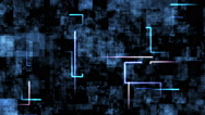 Electronical abstract background Stock Footage