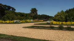 Gardens at Osbourne house Isle of Wight Stock Footage