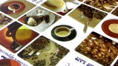 Hot Coffee Mug Real Time Stock Footage