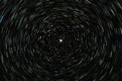 Polaris stars space Stock Photos