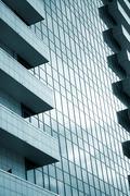 Modern building facade Stock Photos