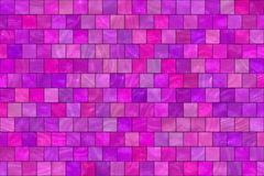 Purple tiles background Stock Illustration