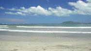 Tropical beach, Guanacaste, Costa Rica. Stock Footage