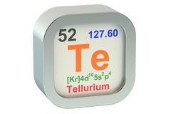 Tellurium Stock Illustration