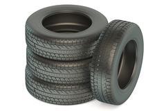 Set of automotive tires Piirros