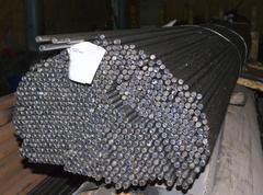 Steel rods in factory warehouse Kuvituskuvat