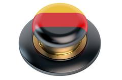 Germany flag button Stock Illustration