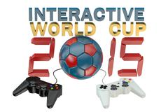 Interactive World Cup concept Stock Illustration