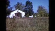 1960: a open garden scene WAUCONDA, ILLINOIS Stock Footage