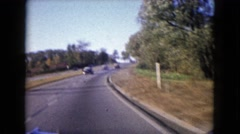 1960: a road trip is seen WAUCONDA, ILLINOIS Stock Footage