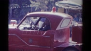 1959: a car is seen CATSKILL GAME FARM, NEW YORK Stock Footage