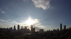 Autumn Equinox Time Lapse Atlanta, GA Stock Footage