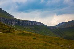 Panorama of Romanian Carpathians Stock Photos