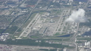 Fort Lauderdale airport Stock Footage
