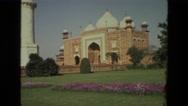 1974: qutub minar in delhi INDIA Stock Footage