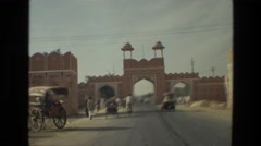 1974: cherish every moment while embracing every single experience INDIA Stock Footage