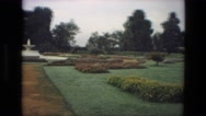 1974: a garden is seen INDIA Stock Footage