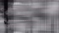 Black and white glitch loop overlay Stock Footage