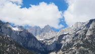 Time Lapse of Heavenly Clouds at Mount Whitney in Sierra Nevada -Long Shot- Stock Footage