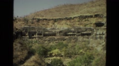 1974: a tourist area is seen INDIA Stock Footage