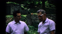 1963: this is video of my dad that sells vegetables of this person.  Stock Footage