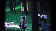 1963: a outdoor scene COLD SPRINGS, NEW YORK Stock Footage