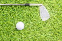 Sport object related to golf equipment Stock Photos