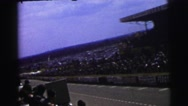 1955: a racing scene is seen LE MANS GRAND PRIX, FRANCE Stock Footage
