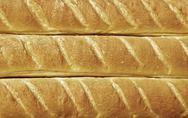 Fresh and tasty baguette Stock Photos