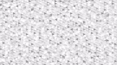 Grey glitter triangles mosaic technical video animation Stock Footage