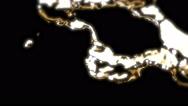 Gold Metal Liquid - 13 Stock Footage
