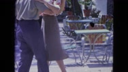 1964: a couple is seen dancing SAN JUAN, PUERTO RICO Stock Footage