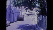 1964: sleepy island warehouse city district SAN JUAN, PUERTO RICO Stock Footage