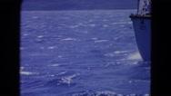 1964: a boat is seen SAN JUAN, PUERTO RICO Stock Footage