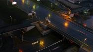 Timelapse urban traffic. Stock Footage