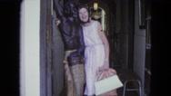 1964: a woman is seen posing KINGSTON, JAMAICA Stock Footage