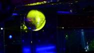 The light illumination in the disco hall. Stock Footage