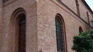 Holy Trinity Church in Torun, Poland Stock Footage