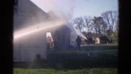 1968: water is being poured WAUCONDA, ILLINOIS Stock Footage