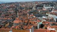 Lisbon Panorama. Lisbon is capital of Portugal Stock Footage