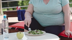 Salad Hater Stock Footage