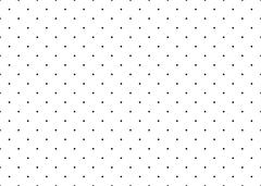 Dotted simple seamless vector pattern. Stock Illustration
