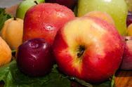 Ripe and fresh fruit Stock Photos