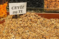 Typical walnuts in Istambul bazar, Turkey Kuvituskuvat