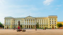 House of Councils in Smolensk, Russia Stock Footage