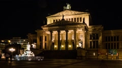Konzerthaus Berlin, Germany Stock Footage