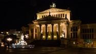 Konzerthaus Berlin, Germany Stock Footage