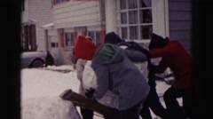 1962: how many does it take to build frosty? HAGERSTOWN, MARYLAND Stock Footage
